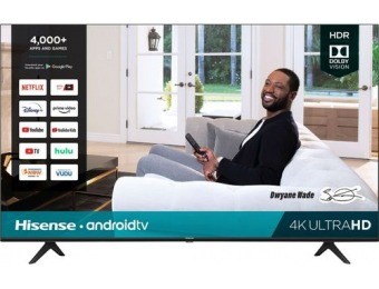 "$120 off Hisense 55"" H65 Smart LED 4K UHD TV"