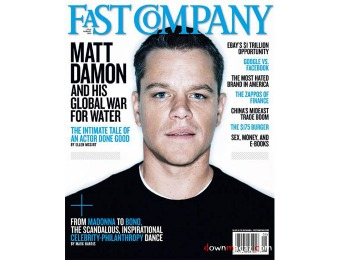 $45 off Fast Company Magazine Subscription, 10 Issues / $4.50
