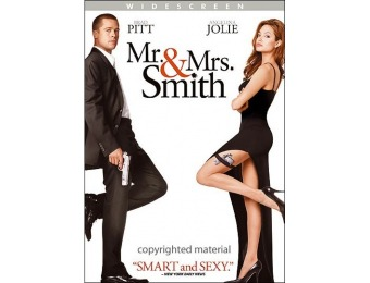 62% off Mr. and Mrs. Smith (DVD)