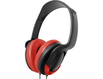$44 off Vibe VS-723 DJ Style On Ear Stereo Headphones, Several Colors
