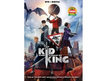 67% off The Kid Who Would Be King (DVD)