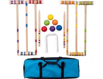 $40 off Hey! Play! Croquet Set with Carrying Case