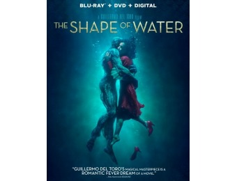 72% off The Shape of Water (Blu-ray/DVD)