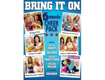 $20 off Bring It On: 6-Movie Cheer Pack (DVD)