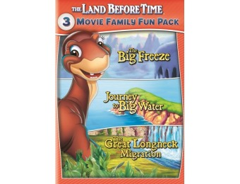 50% off The Land Before Time VIII-X: 3-Movie Family Fun Pack (DVD)