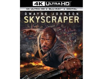 $20 off Skyscraper (4K Ultra HD Blu-ray/Blu-ray)