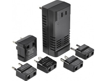 50% off Insignia Travel Adapter/Converter