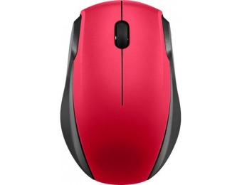 50% off Insignia Wireless Optical Mouse - Black/Red