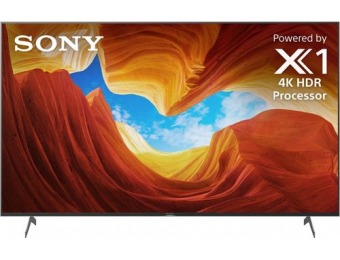 "$600 off Sony 65"" X900H Smart LED 4K UHD TV"