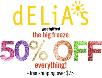 Extra 50% off Everything - Even works on 75% off sale items!