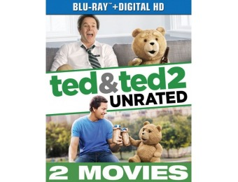 77% off Ted/Ted 2 (Blu-ray)