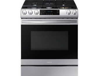 $510 off Samsung Gas Convection Range with WiFi and Air Fry