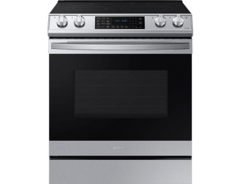 $530 off Samsung Electric Convection Range with WiFi, Air Fry