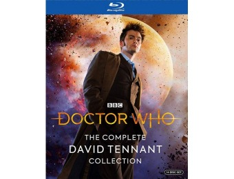 71% off Doctor Who: The Complete David Tennant (Blu-ray)