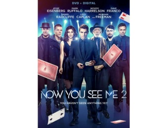 75% off Now You See Me 2 (DVD)
