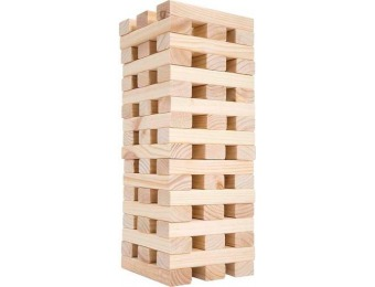 $90 off Hey! Play! Giant Wooden Blocks Tower Stacking Game