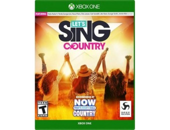 86% off Let's Sing Country - Xbox One