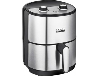 50% off Bella Pro Series 4.3-qt. Analog Air Fryer - Stainless Steel
