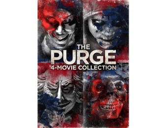 68% off The Purge: 4-Movie Collection (DVD)