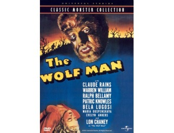 62% off The Wolf Man [1941] (DVD)
