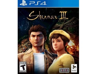 $52 off Shenmue III - PlayStation 4