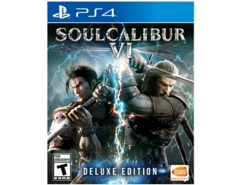 $50 off Soulcalibur VI: Deluxe Edition - PlayStation 4