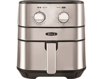 $55 off Bella 4-qt Air Convection Fryer - Stainless Steel