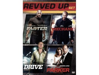 33% off Drive/Parker/Faster/The Mechanic (DVD)