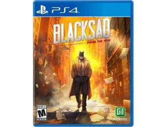 74% off Blacksad: Under the Skin Limited Edition - PlayStation 4