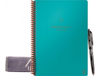 "25% off Rocket Innovations Fusion 6.0"" x 8.8"" Smart Notebook - Teal"