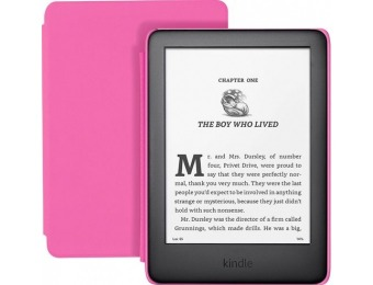 "$35 off Amazon Kindle (10th Gen) Kids Edition 6"" 8GB - Pink"
