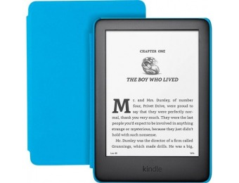 "$30 off Amazon Kindle (10th Gen) Kids Edition 6"" 8GB - Blue"