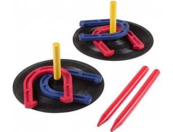 57% off Rubber Horseshoes Indoor/Outdoor Game Set