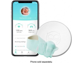$101 off Owlet Smart Sock 2 Baby Oxygen and Heart Rate Monitor