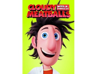 40% off Cloudy With a Chance of Meatballs (DVD)