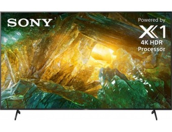 "$700 off Sony 85"" X800H Series LED 4K UHD TV Smart Android TV"