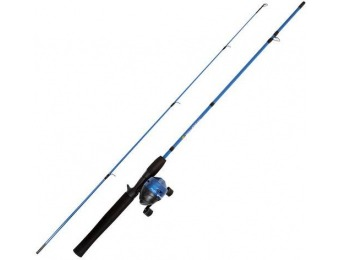 60% off Wakeman 2-Piece Rod and Reel Fishing Pole