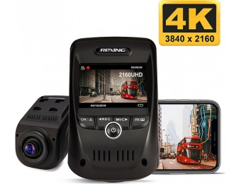 $40 off Rexing V1 Max Real 4K UHD Single Channel Wi-Fi Dash Camera