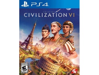 72% off Sid Meier's Civilization VI - PlayStation 4
