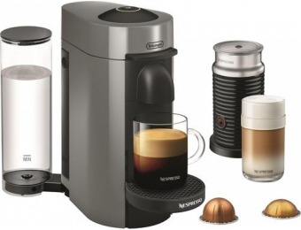 $135 off Nespresso VertuoPlus Coffee Maker and Espresso Machine