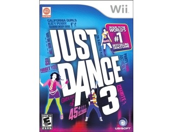 66% off Just Dance 3 (Nintendo Wii)