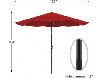 $40 off Pure Garden Patio Umbrella