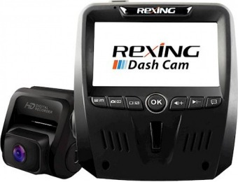 $50 off Rexing V1LG 1080p Dash Cam with HD Rear Camera
