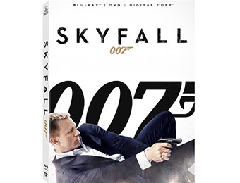 50% off Skyfall on Blu-ray (Release Date: Feb. 12, 2013)