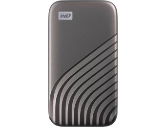 $40 off WD My Passport 500GB External USB Type-C Portable SSD