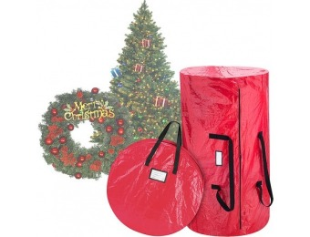 43% off Christmas Tree and Wreath Combo Storage Bag