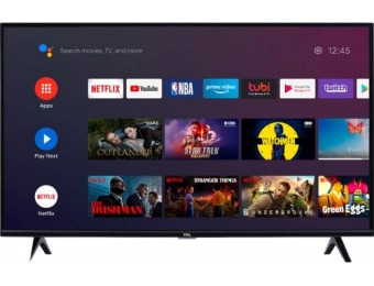 "$40 off TCL 40"" 3-Series Full HD Smart Android TV"