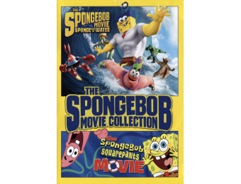 78% off The Spongebob Squarepants Movie Collection (DVD)
