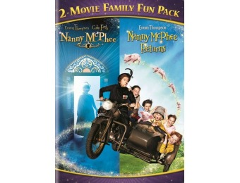 56% off Nanny McPhee 2-Movie Family Fun Pack (DVD)