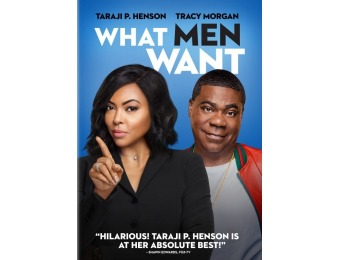 83% off What Men Want (DVD)